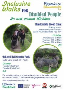 Inclusive walks October 2014 image