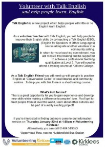 Talk English
