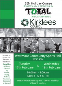 total sports foundation feb half term