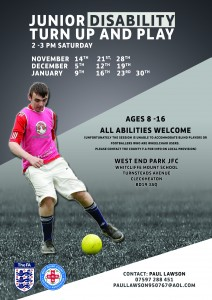 West End Park JFC - Disability Football Sessions (2)