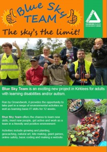 Blue sky team leaflet pg1