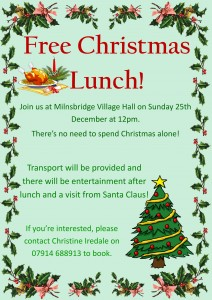 christmas lunch poster 1-1